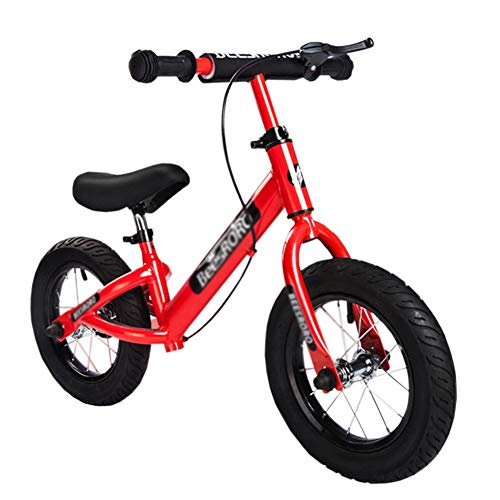 Bicicleta sin pedales YXX Bici Niños Bicicleta De Equilibrio con Freno De...