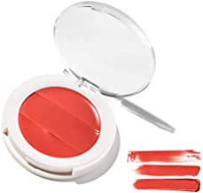 3-in-1 Lip + Cheek Cream. Coconut Extract for Radiant, Dewy, Natural Glow - UNDONE BEAUTY Lip to Cheek Palette. Blushing, Highlighting & Tinting. Sheer to Opaque Color. Vegan & Cruelty Free. BLAZEN