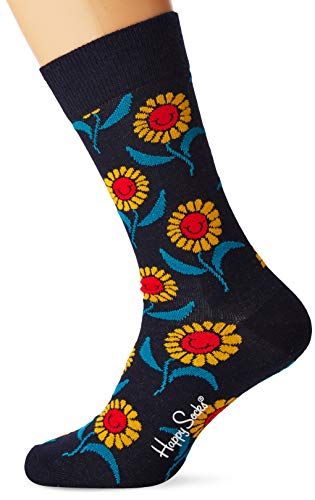 Happy Socks Herren Sunflower Socken, Mehrfarbig (Multicolour 630), 7/10 (Herstellergröße: 41-46)
