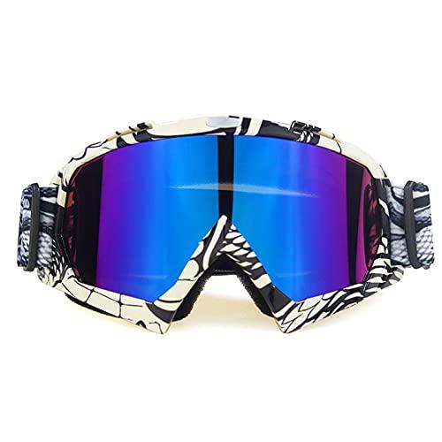 CYYS Gafas de Motocross, Gafas de baño de Casco de Bicicletas, Gafas de natación, adecuadas para Gafas Protectoras para Adultos