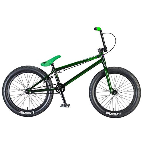 Mafiabikes 20 Zoll BMX Bike MADMAIN Verschiedene Farbvarianten Harry Main (Green Crackle)