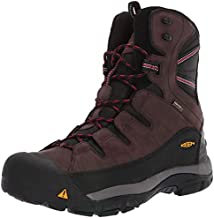 KEEN Men's Summit County Mid Calf Boot, Mulch/Black, 10 M US