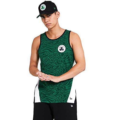 New Era Boston Celtics NBA Shirt Tanktop Basketball Fanshirt Trikot Grün - S