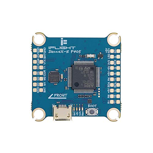 iFlight SucceX-E F4 V2.1 Flight Controller 30.5X 30.5mm Mounting F4 FC, Built-in OSD, Barometer, Current Sensor, 8MB Black Box, for 3-6s FPV Racing Drone Quadcopter