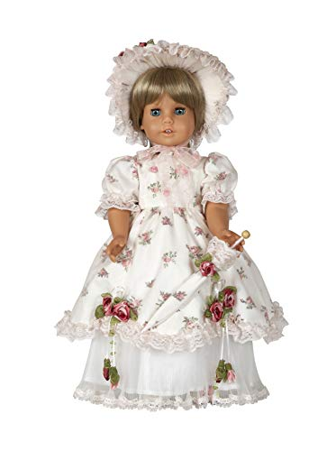 Diana Collection Southern Belle Complete Outfit with Shoes. Fits 18' Dolls Like American Girl