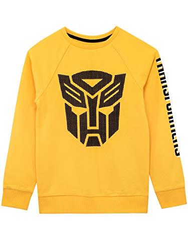 Transformers Jungen Autobots Sweatshirt Gelb 140
