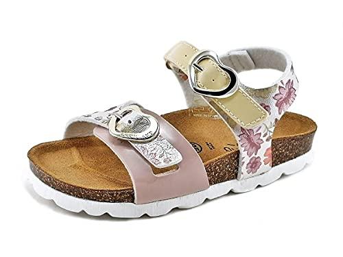 Grunland SB1670 Sandali da Bambina con Strappo Rosa (numeric_31)