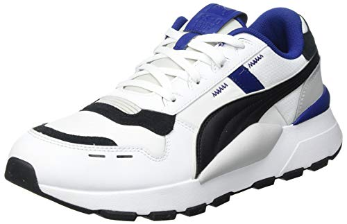 PUMA RS 2.0 Futura, Zapatillas Unisex Adulto, Blanco Negro Elektro Azul, 43 EU