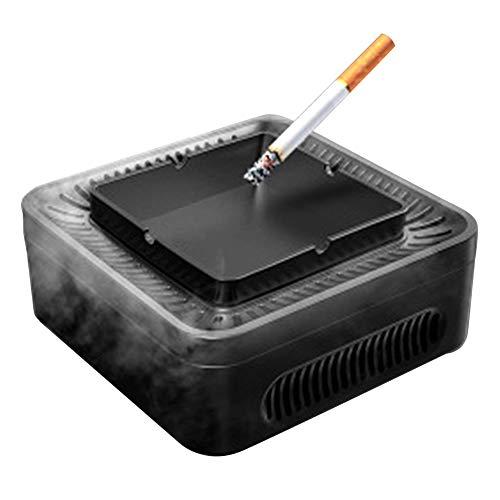 TFACR Luftfilter für Zuhause/Büro/Auto - 2 in 1 Luftreiniger und Aschenbecher für Raucher, Negativer Ionenreiniger Entfernen Sie gebrauchten Rauch vielseitig