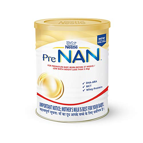 Nestle PRE NAN Low Birth Weight Infant Milk Formula 400g (for Premature Baby (Born Before 37 Weeks / Low Birth Weight (Less Than...