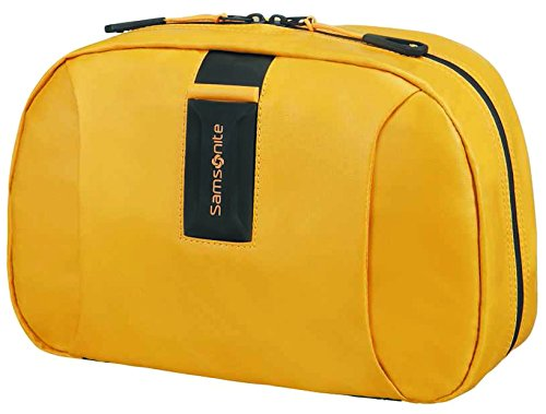 SAMSONITE Paradiver Light - Toilet Kit Bolsa de Aseo, 28 cm, 6.5 Liters, Amarillo (Yellow)