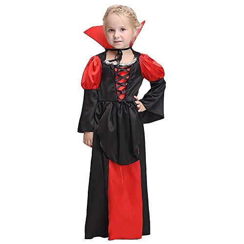 COOGG Halloween Kinderkostuum Cosplay Kostuum Rol Speelt Vampier Pak Kinderen Toon Kleding