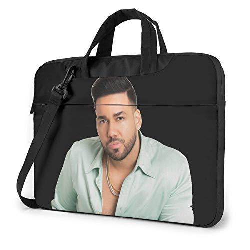 Romeo Santos Umhängetasche Messenger Bag Case Aktentasche Sleeve für 15,6 Zoll Laptop Tasche