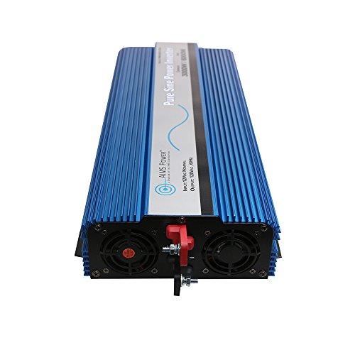AIMS Power3000 WATT Pure SINE Power Inverter 12 VDC to 120 VAC - Non UL Listed