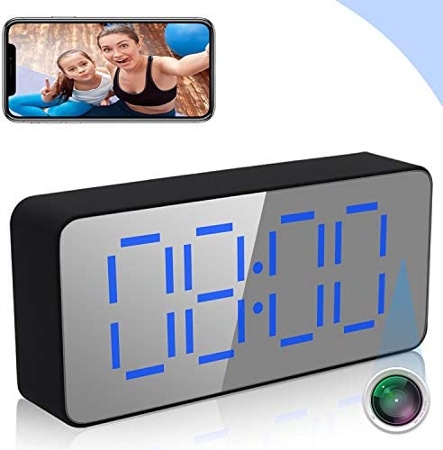 Clock Camera ZXWDDP WiFi Wireless 1080P Camera Indoor Home Security Surveillance Camera IP Camera product image