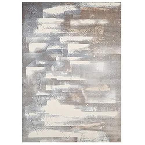 FASZFSAF Teppich Aus Polypropylen, Leichter Luxusteppich füR Das Wohnzimmer Home Schlafzimmer Flauschiger Sofa Couchtisch Bodenmatte Kinder Nachtteppiche und Teppiche,C,2 * 2.9M*12MM