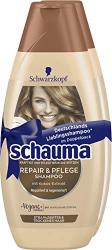 Schauma Shampoo Repair & Pflege 2er Pack, 800 g
