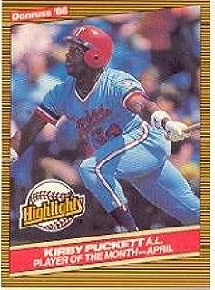 1986 Donruss Highlights #7 Kirby Puckett Near Mint/Mint