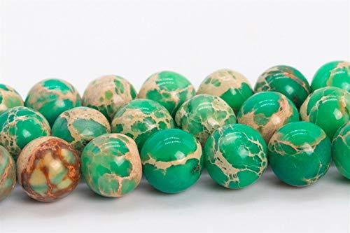 "6MM Natural Lake Green Sea nvKE Sediment Imperial Jasper Beads AAA Round Beads 15"""