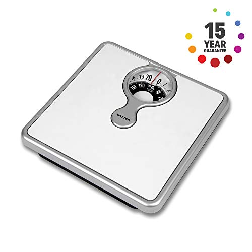 Salter Mechanical Bathroom Scales – Easy to Read Magnified Display for Weighing...