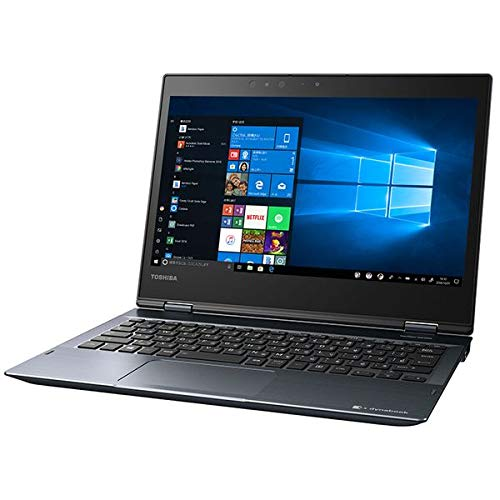 Dynabook 12.5型 2-in-1 パソコン dynabook V6 オニキスブルー2019年 春モデル(Core i3/メモリ 4GB/SSD 128GB/Office H&B 2019) P1V6JPBL