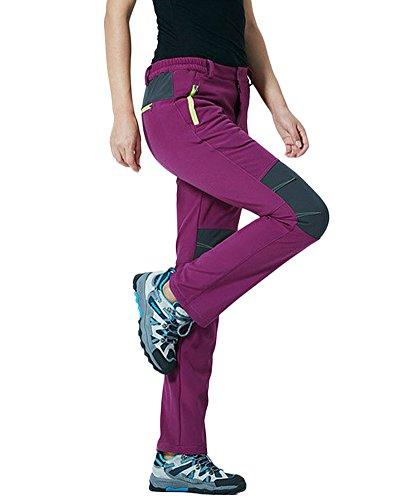 Qitun Mujer Hombre de Trekking Senderismo Impermeable Secado Rápido Deportivos Transpirable Pantalones...