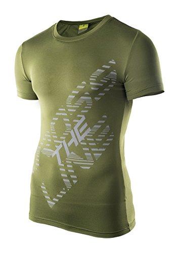IQ-Company Ledo T Shirt XXL Vert Pesto