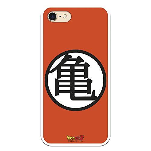 Funda para iPhone 7 - iPhone 8 - iPhone SE 2020 Oficial de Dragon Ball Kame Símbolo para Proteger tu móvil. Carcasa para Apple de Silicona Flexible con Licencia Oficial de Dragon Ball.