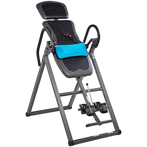 Lowest Price! ZYK Heavy Duty Inversion Table Inverted Exercise Machine with Headrest,Inverted Machin...