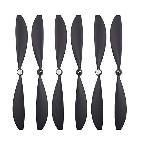TwoCC 6 stücke drone propeller klingen flügel zubehör teile für Gopro karma schwarz neu