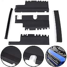 Black Performance Radiator Shroud Cooling Plate Kit Compatible For Subaru WRX STI 2015 2016 2017 2018