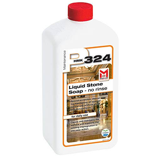 HMK P324 Liquid Stone Maintenance Soap Concentrate 1-Liter Daily Granite & Marble Cleaner
