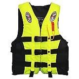 Leepesx Fishing Life Jacket Water Sports Floatation Vest Adults Children Waistcoat