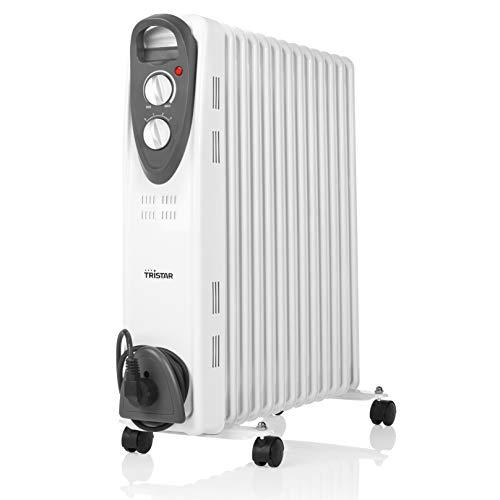 Tristar KA-5093 Elektrische radiator (olieradiator), 3 instelbare standen, regelbare thermostaat, 13 ribben, 2500 W, 1,4 meter kabeltoevoer