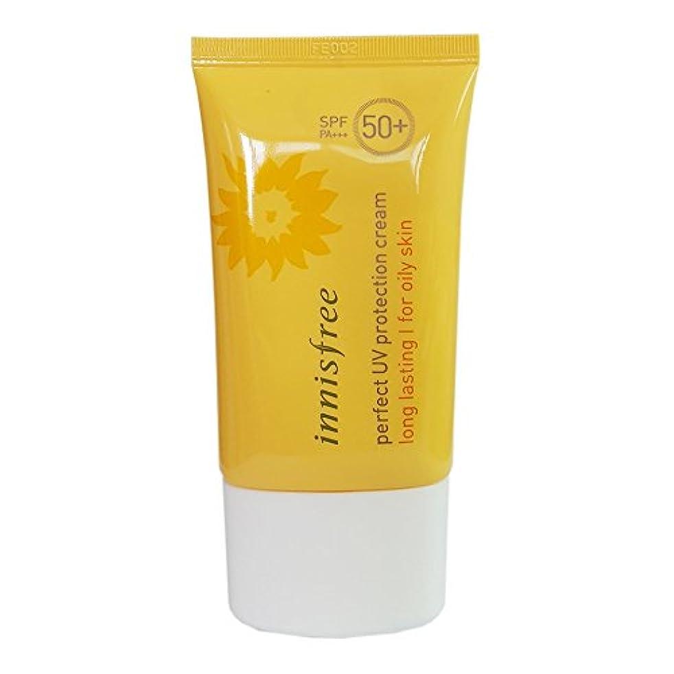 残り物防水レンド[イニスプリー]Innisfree パーフェクトUVプロテクションクリームロング?ラスティング 脂複合性肌用 SPF50+PA+++ 50ml Innisfree Perfect UV Protection Cream Long Lasting For Oily skin SPF50+PA+++ 50ml [海外直送品]