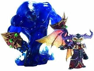 World of Warcraft: Premium Series 2: Gnome Warlock: Valdremar with Voidwalker Voyd Action Figure