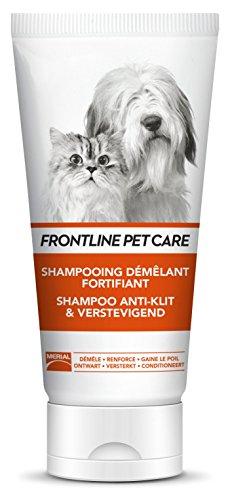 Frontline Pet Care Shampoo Entfilzer und Fortifier für Hunde und Katzen 200 ml
