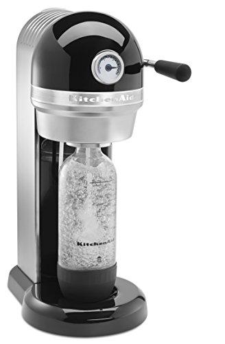 KitchenAid KSS3121CU Sparkling Beverage Maker powered by SodaStream - Contour Silver, Contour Silver
