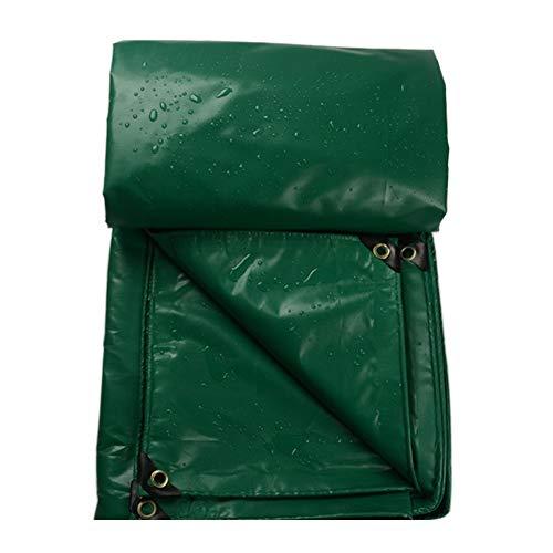 Bâche Imperméable Etanche, Universelle Verte, Résistant à l'usure, Résistant à la déchirure, 450G / M² (Taille : 3.6×3.5m)