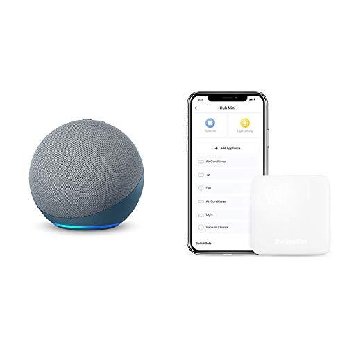 【セット買い】Echo(第4世代)トワイライトブルー+スイッチボットHubMiniスマートリモコン