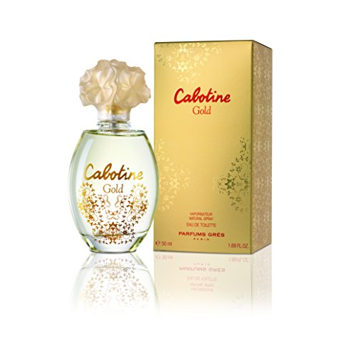 Gres de Paris Cabotine Gold, femme/woman, eau de toilette, 50 ml