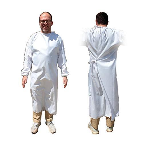 Bata Sanitaria Hidrófuga Impermeable (120 lavados)