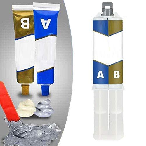 Ab Magic Welding Glue Metal Paste,Magischer Schweißkleber,Industrielle Hitzebeständigkeit Kaltschweißmetall-reparaturpaste (50ml)
