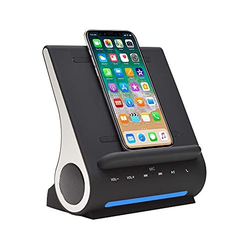 Azpen Dockall D100 - Qi Wireless Charger, Bluetooth...