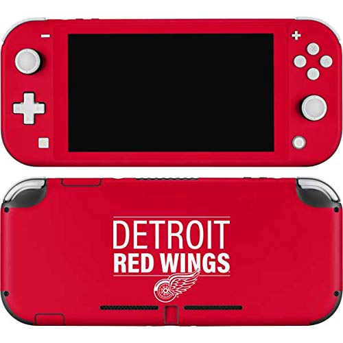 Skinit Decal Gaming Skin Compatible with Nintendo Switch Lite - Officially Licensed NHL Detroit Red Wings Lineup Design