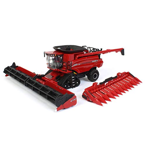 ERTL 1/64 Limited Edition 2020 Farm Show, Case IH 8250 Axial Flow Combine with Soft Feel Tracks, One Time Production 44209 -  ZFN44209