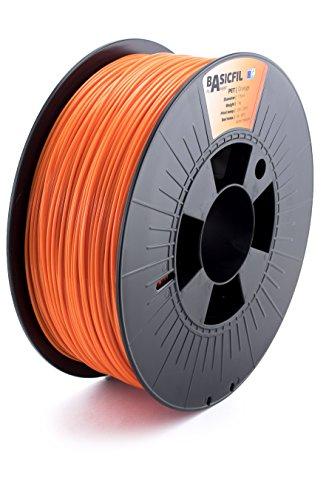 BASICFIL PET 1.75mm 1 kg, ORANGE (orange), 3D Drucker Filament