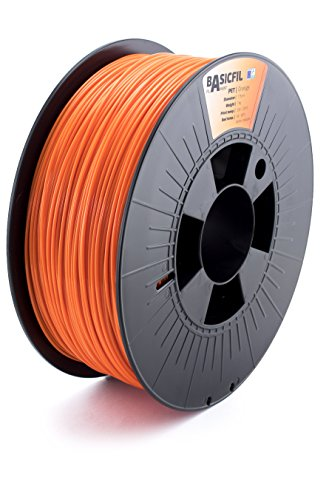 BASICFIL PET 1.75mm 1 kg, ORANGE (orange), 3D Drucker Filament