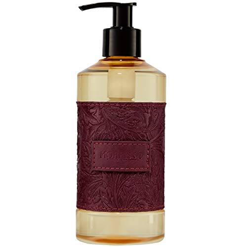 Morris & Co. Beauty Higo & Sandalwood - Dispensador de lavado de manos con extracto de aloe, color morado, 300 ml