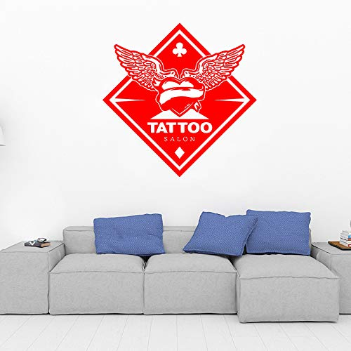 yaoxingfu Tatuaje Personalizado Salon Logo Etiqueta de la Pared Tattoo Studio...
